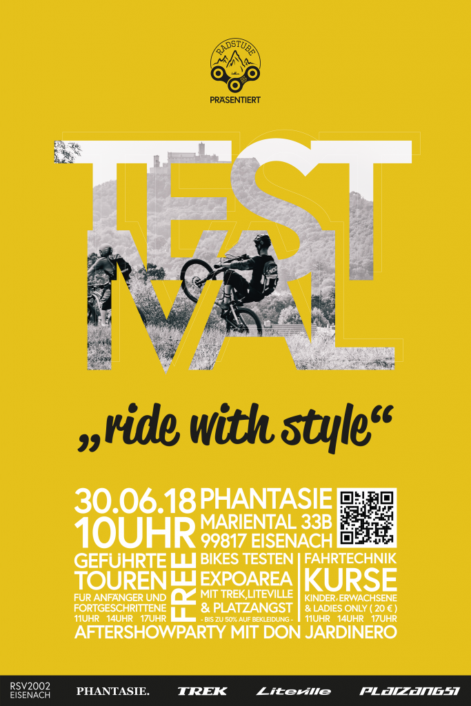 Mountainbike Testival in Eisenach